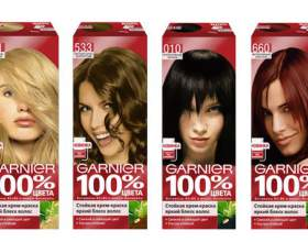 Каталог краски для волос гарньер (garnier) фото