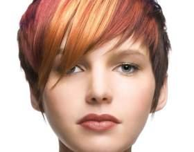 Колорирование на русые волосы: варианты и техника выполнения фото