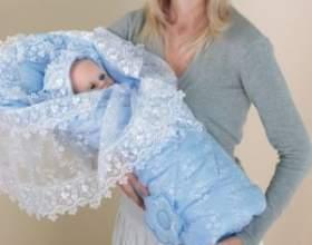 Комплекты/конверты на выписку для новорожденного зимой – 10 лучших моделей фото