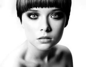 Короткие стрижки и прически для круглого лица фото 2013 фото