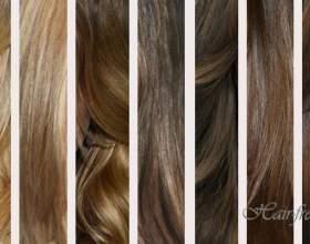 Русые оттенки волос фото