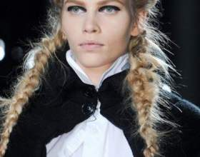 Косички для длинных волос 2012, фото фото