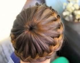 Косички маленьким девочкам для средних и коротких волос фото