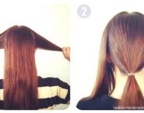 Красивая прическа с косами фото
