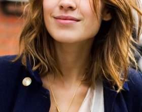 Красивые стрижки, прически и укладки на средний волос. Фото фото