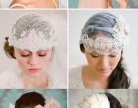 Красивые свадебные прически на средние волосы фото