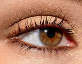 Красивый макияж карих глаз фото