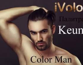 Краска для волос color man от keune: палитра и свойства фото
