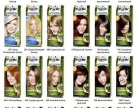 Краска для волос «палет»: преимущества палитры фото