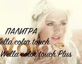 Краска для волос wella color touch и wella color touch plus: палитра фото