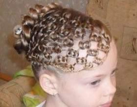 Крутые причёски для девочек бесплатно – создайте красоту своими руками! фото
