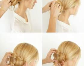 Легкие прически на средние волосы фото