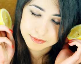 Лимонные маски для волос фото