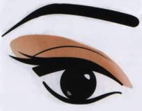 Макияж глаз с опущенным веком фото