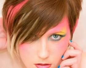 Стрижка каскад на короткие волосы фото