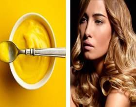 Маска для волос из горчицы фото