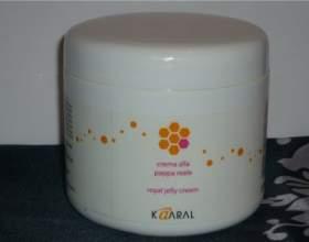 Маска для волос kaaral royal jelly cream — применение и результат фото