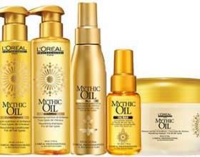 Масло для волос лореаль — две серии средств для питания локонов: экстраординарное и mythic oil фото