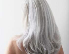 Мелирование на седые волосы. Все «за» и «проти⻠фото