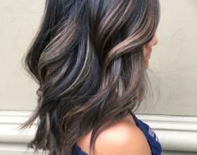 Мелирование на тёмные волосы: виды, техники и фото фото
