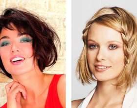 Мода 2015: стильные стрижки на средние волосы фото