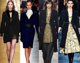Модная верхняя одежда сезона осень-зима 2015/2016. Пальто, манто, шубы, утеплённые пиджаки. фото
