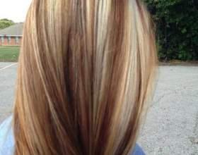 Модное окрашивание волос. Мелирование 2016-2017 фото