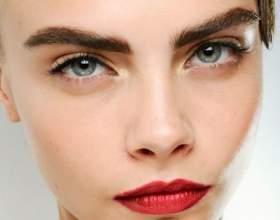 Модные брови 2014: делаем идеальную форму бровей фото