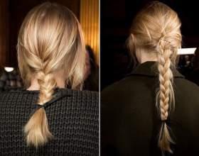 Тенденции 2016: причёски с плетением фото