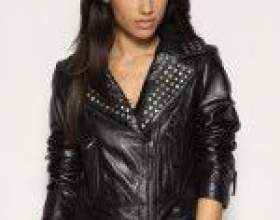 Модные модели кожаных курток на осень 2012 фото