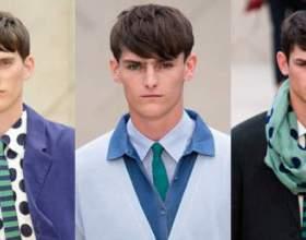 Модные мужские прически фото