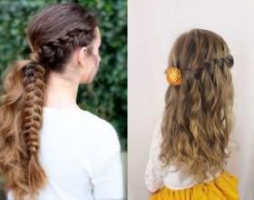 Модные причёски для девочек 10 лет фото
