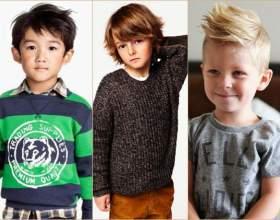 Модные стрижки для модных мальчиков фото