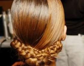 Модные тренды осень 2011: коса фото
