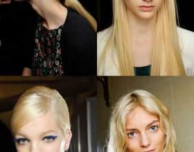 Модный цвет волос 2013. Естественность и яркие краски фото