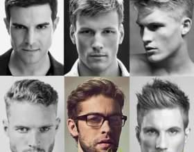 Мужские интересные стрижки 2015 года для коротких волос фото