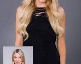 Наращивание волос холодным методом фото
