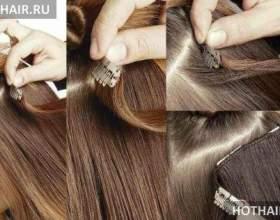 Наращивание волос клипсами фото