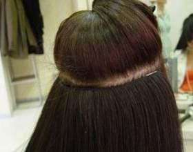 Наращивание волос на трессах: методы, технология, плюсы и минусы, рекомендации по уходу за волосами после процедуры фото