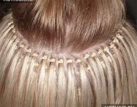 Наращивание волос: плюсы и минусы фото