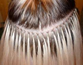 Наращивание волос с помощью металлических бусин фото