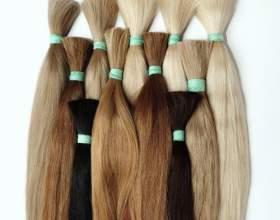 Натуральные пряди для наращивания волос фото