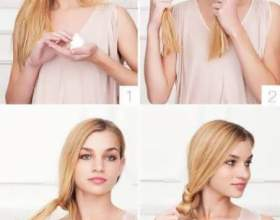 Несложные прически на средние и длинные волосы фото