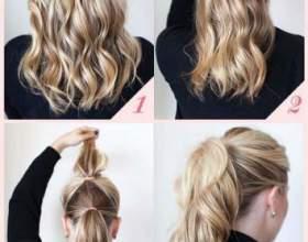 Обзор вечерних причесок на тонкие волосы средней длины фото