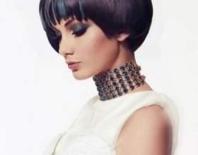 Укладка каскада на средние волосы: 2 варианта фото