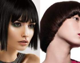Определяемся с чёлкой для коротких волос фото