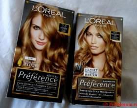 Оттенки палитры краски для волос лореаль преферанс, отзывы об ее использовании фото