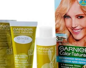 Палитра красок для волос гарньер (garnier ) фото