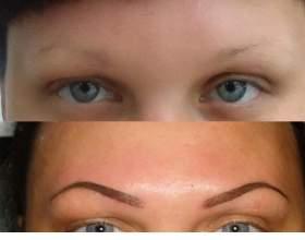 Перманентный макияж бровей: 3 метода и их особенности фото