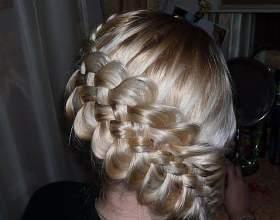 Пятирядная коса фото